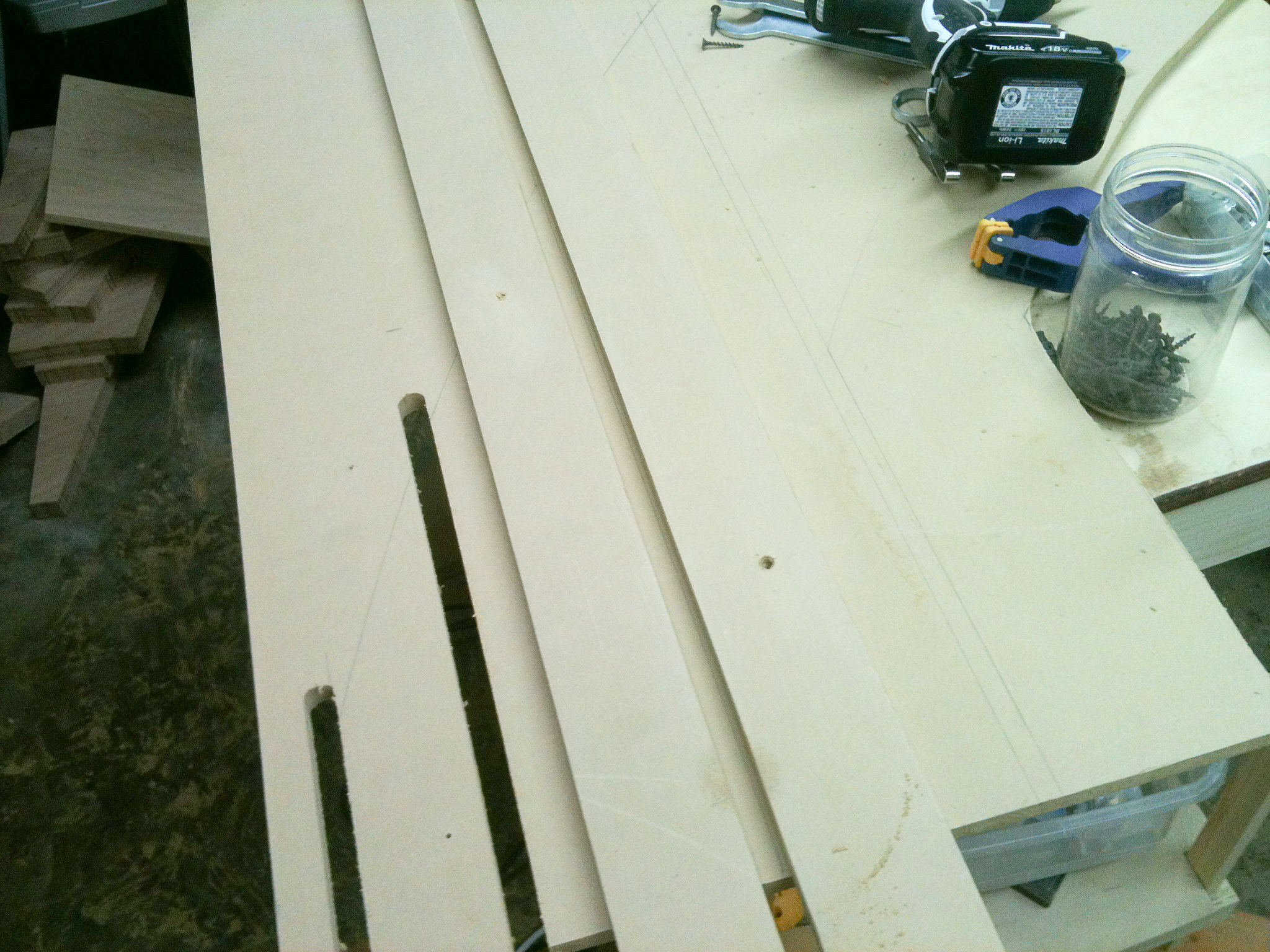 how to make a router template for inlay